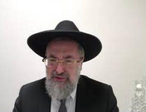 Hesped (Oraison Funèbre) en L'Honneur de Rabbi Messod Hamou Zts'L