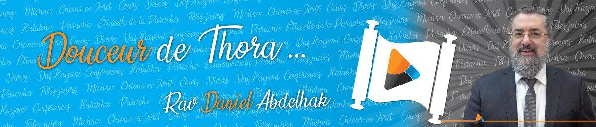 Rav Daniel Abdelhak Logo