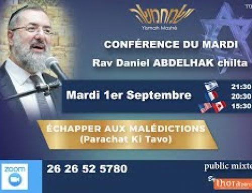 Conférence : Comment Échapper aux Malédictions (Klalot)