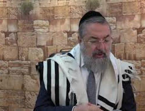 Halakha : À propos de la Bracha Asher Yatser