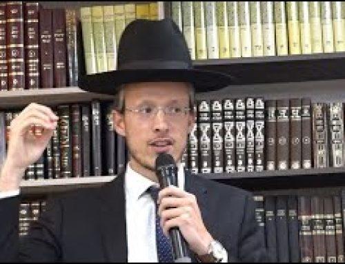 Conférence : Rav Shimon Gobert – Changez Votre Histoire